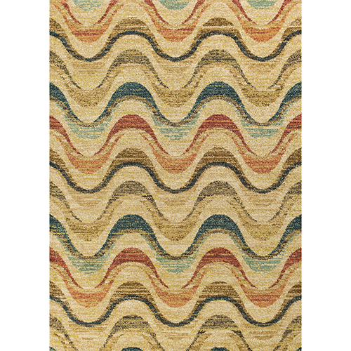 KAS Oriental Rugs Barcelona Sand Isla Rectangular: 2 Ft. 7 In. x 4 Ft. 11 In. Rug