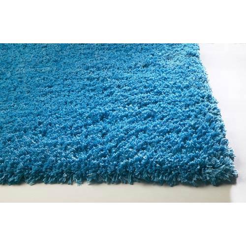 Bliss Highlighter Blue Rectangular: 5 ft. x 7 ft. Rug