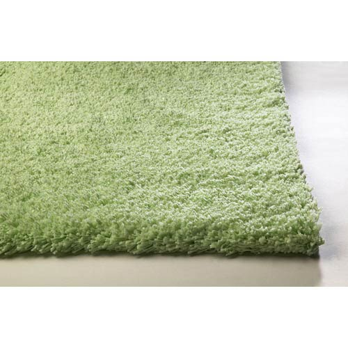 KAS Oriental Rugs Bliss Spearmint Green Rectangular: 5 ft. x 7 ft. Rug
