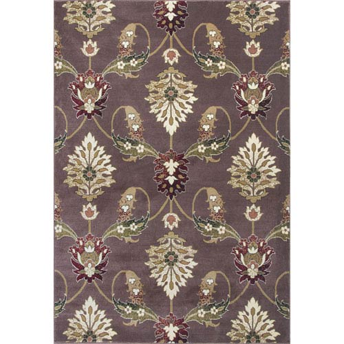 Cambridge Plum Rectangular: 20-Inch x 31-Inch Rug