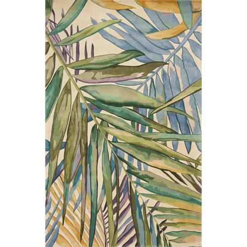 KAS Oriental Rugs Catalina Multicolor Island Breeze Rectangular: 30 In. x 50 In. Rug