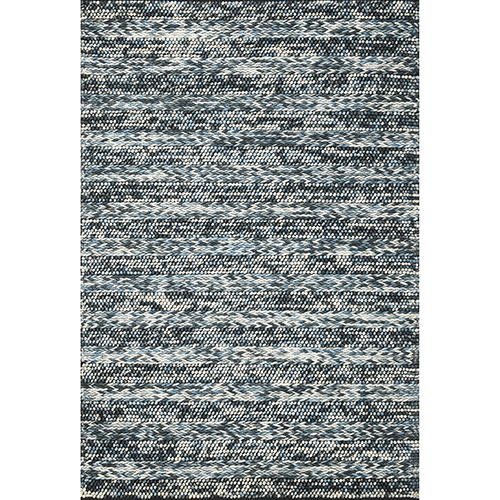 KAS Oriental Rugs Cortico Blue Heather Rectangular: 9 Ft. x 13 Ft. Rug