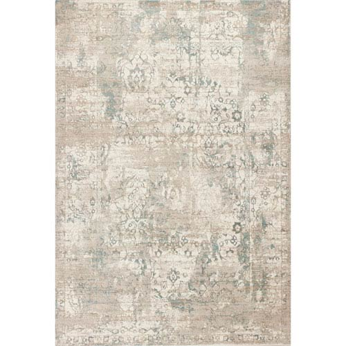 KAS Oriental Rugs Crete Ivory Rectangular: 3 Ft. 3-Inch x 4 Ft. 7-Inch Rug