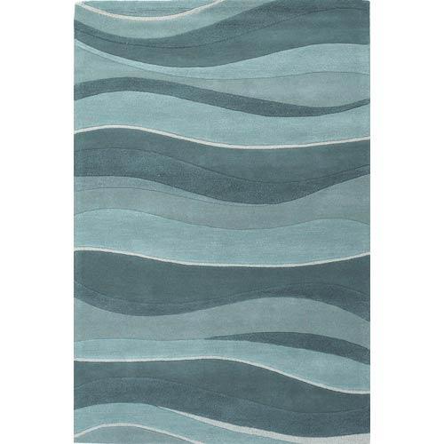 Eternity Ocean Landscapes Rectangular: 5 ft. x 8 ft. Rug