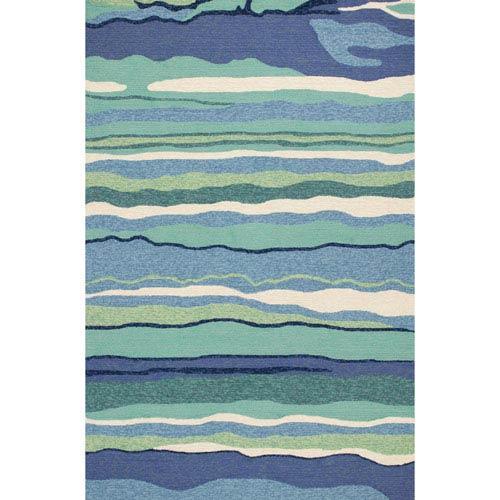 Harbor Ocean Rectangular: 7 Ft. 6-Inch x 9 Ft. 6-Inch Rug