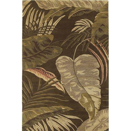 Havana Midnight Rainforest Rectangular: 5 ft. x 8 ft. Rug