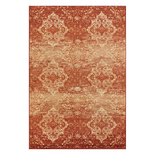Heritage Rust Vintage Rectangular: 3 Ft. 3 In. x 4 Ft. 11 In. Rug