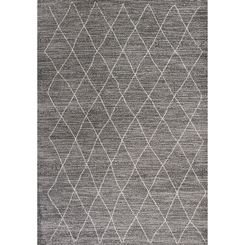 KAS Oriental Rugs Landscapes Grey Boho Rectangular: 3 Ft. 3 In. X 5 Ft. 3 In. Rug