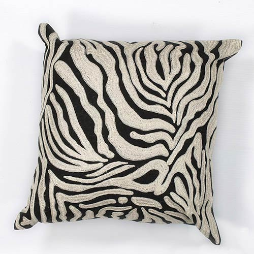 KAS Oriental Rugs Zebra Oasis 18-Inch Decorative Pillow