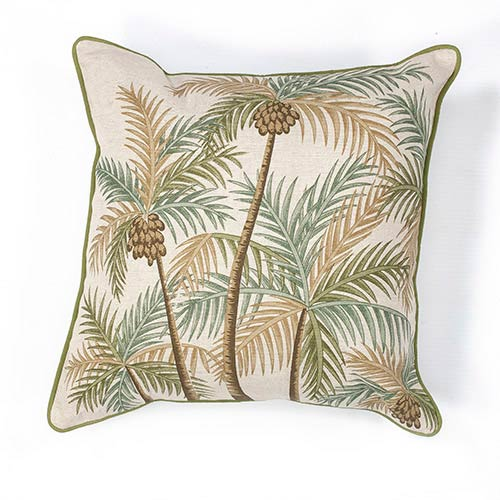 Palm Springs Natural 18-Inch Decorative Pillow