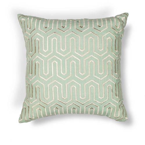 Seafoam 20-Inch Throw Pillow