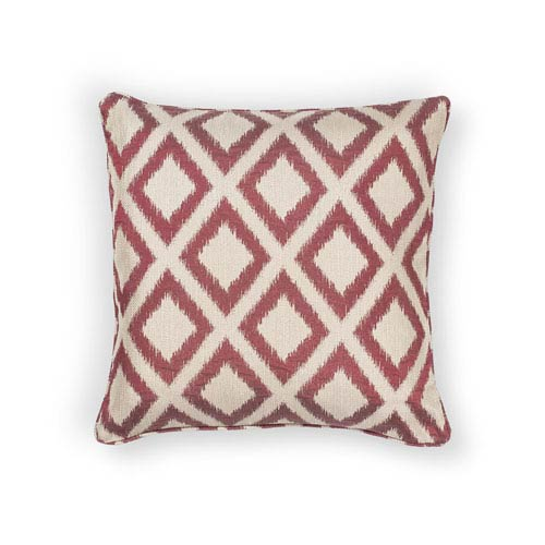 Red 20-Inch Throw Pillow