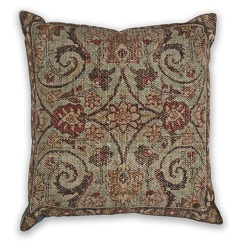 KAS Oriental Rugs Seafoam Casbah 18 In. Pillow