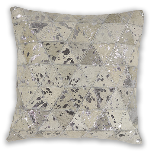 KAS Oriental Rugs Ivory Prism 18 In. Pillow