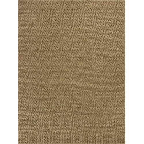 KAS Oriental Rugs Porto Natural Herringbone Rectangular: 5 Ft. x 8 Ft. Rug