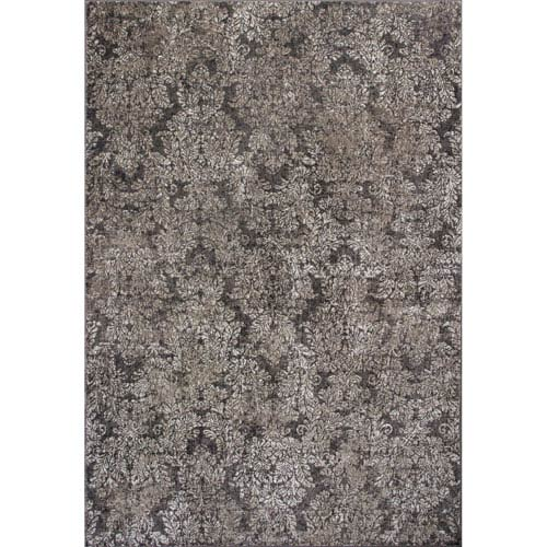 KAS Oriental Rugs Provence Taupe and Sand Rectangular: 2 Ft. 2-Inch x 3 Ft. 7-Inch