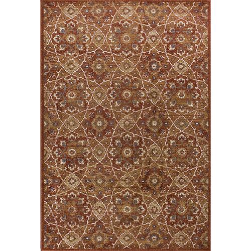 KAS Oriental Rugs Seville Rust Marrakesh Rectangular: 9 Ft. x13 Ft. Rug