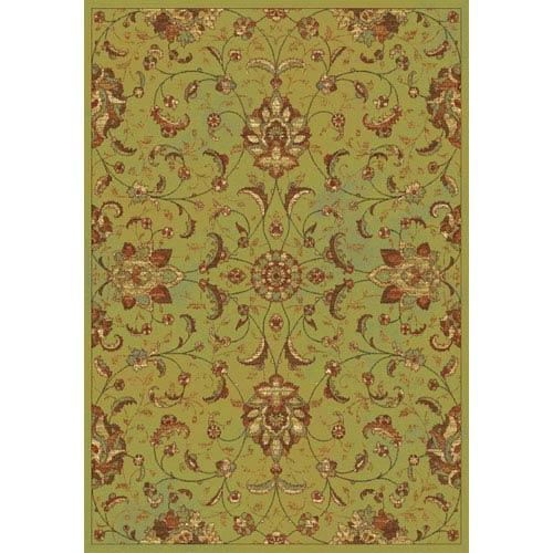 KAS Oriental Rugs Versailles Sage Mahal Rectangular: 5 Ft. 3 In. x 7 Ft. 7 In.  Rug