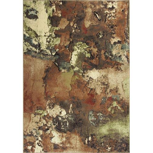 KAS Oriental Rugs Versailles Multi Watercolors Rectangular: 5 Ft. 3 In. x 7 Ft. 7 In. Rug