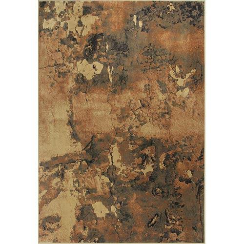 KAS Oriental Rugs Versailles Mocha Palette Runner: 2 Ft. 2 In. x 6 Ft. 11 In. Rug