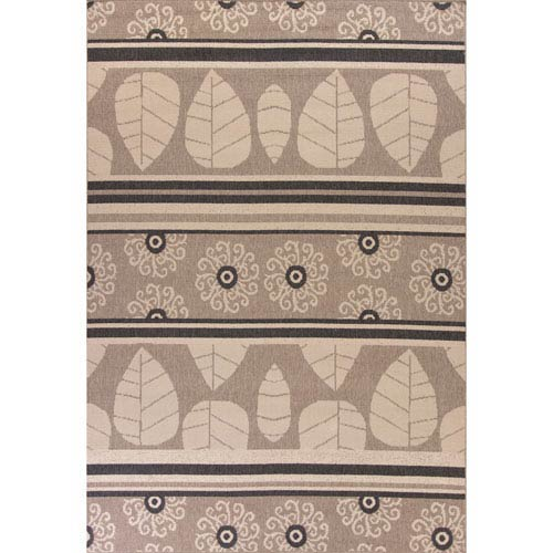 Vista Taupe Rectangular: 7 Ft. 7-Inch x 10 Ft. 10-Inch