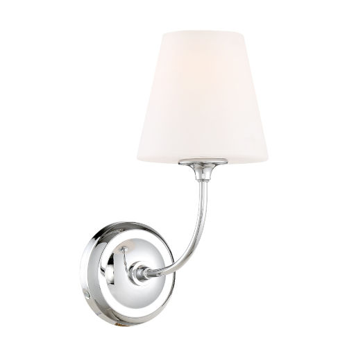 Sylvan Polished Chrome Six-Inch One-Light Wall Sconce