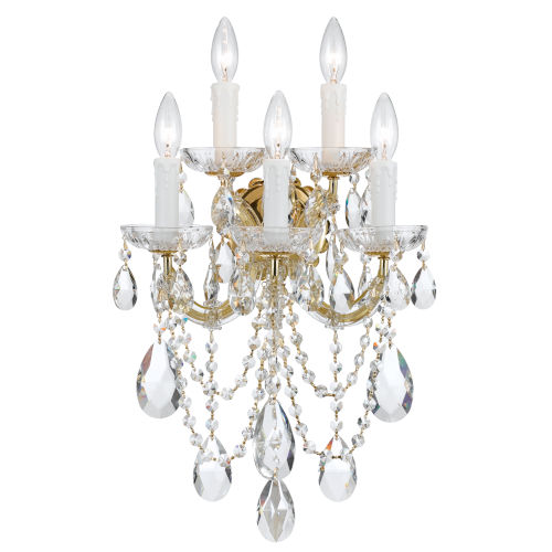 Maria Theresa Sconce with Swarovski Spectra Crystal