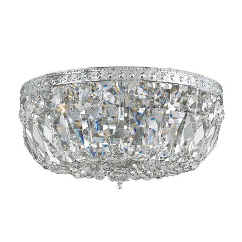 Swarovski Spectra Crystal Flush Mount Ceiling Light