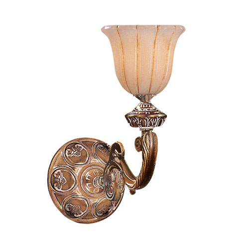 Hot Deal French White 22-Inch One-Light Sconce