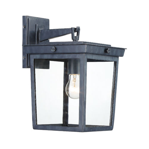 Belmont Graphite 10-Inch One-Light Outdoor Wall Mount