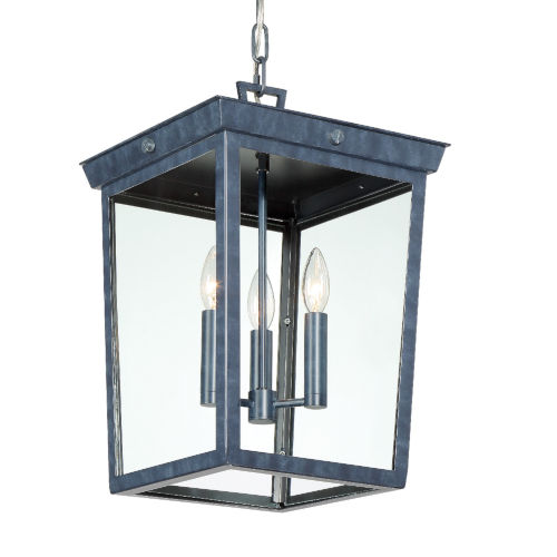 Belmont Graphite 19-Inch Three-Light Outdoor Pendant