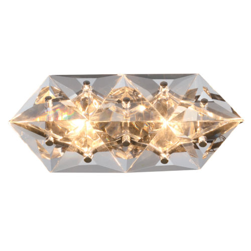 Collins Two-Light Polished Chrome Wall Sconce