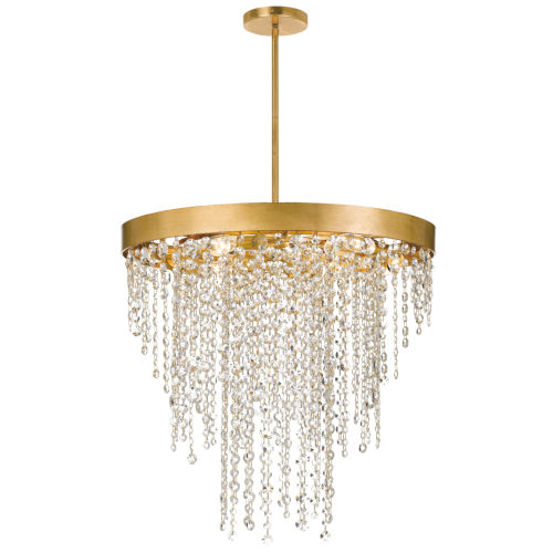 Windham Antique Gold Six-Light Chandelier