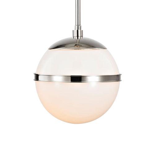 Crystorama Lighting Group Truax One-Light Polished Nickel Mini Chandelier