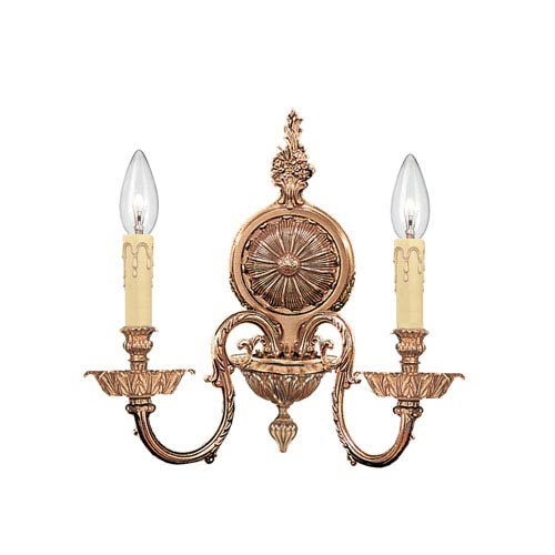 Crystorama Lighting Group Georgetown Two-Light Wall Sconce