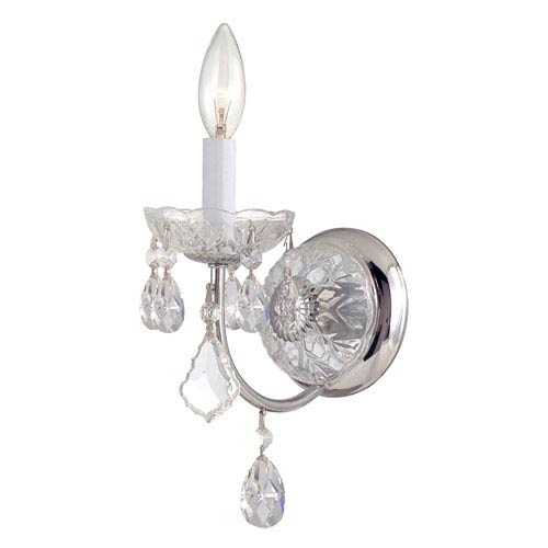 Crystorama Lighting Group Imperial Polished Chrome One-Light Sconces