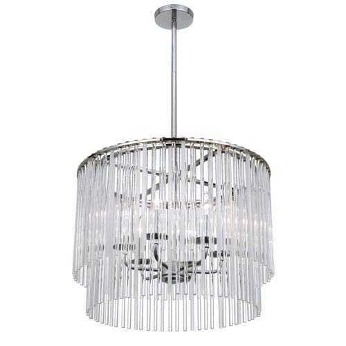 Bleecker Chrome Six-Light Pendant