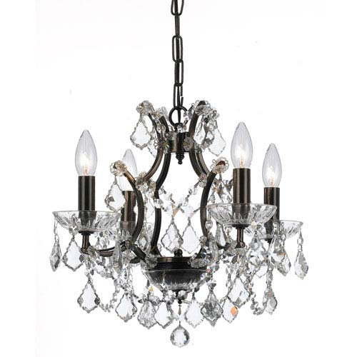 Crystorama Lighting Group Filmore Vibrant Bronze Four-Light Chandeliers