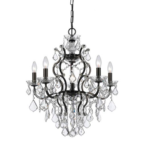 Crystorama Lighting Group Filmore Vibrant Bronze Six-Light Chandeliers