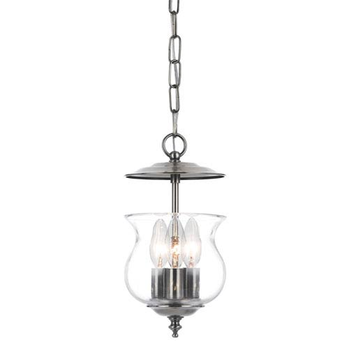 Crystorama lighting group ascott pewter three light bell jar pendant crystorama lighting group ascott pewter three light bell jar pendant aloadofball Image collections