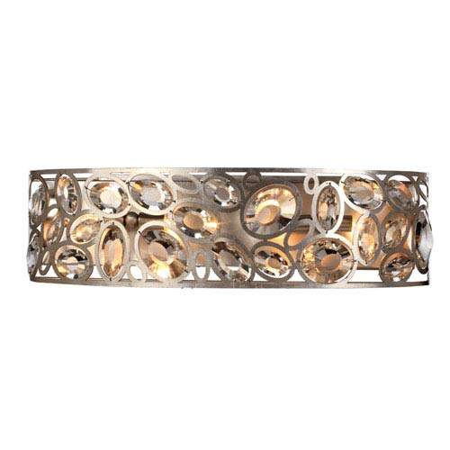 Crystorama Lighting Group Sterling Distressed Twilight Four-Light Bathroom-Vanity Light