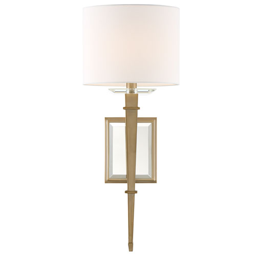 Clifton One-Light Aged Brass Wall Sconce