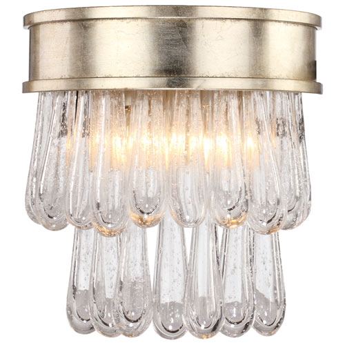 Crystorama Lighting Group Julien Two-Light Distressed Twilight Wall Sconce