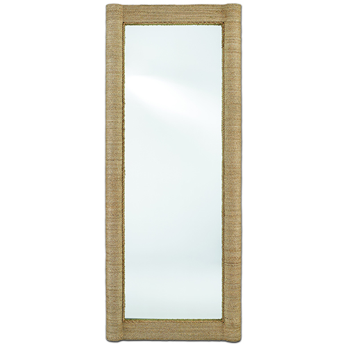 Vilmar Natural Floor Mirror