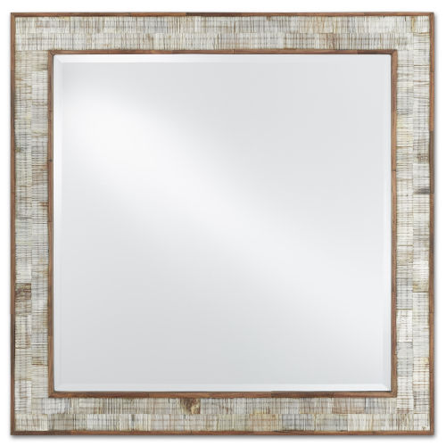 Hyson Natural Square Mirror