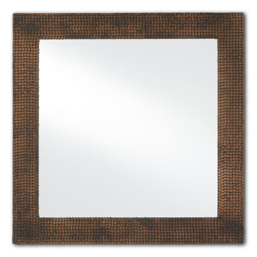 Rame Oxidized Copper Wall Mirror