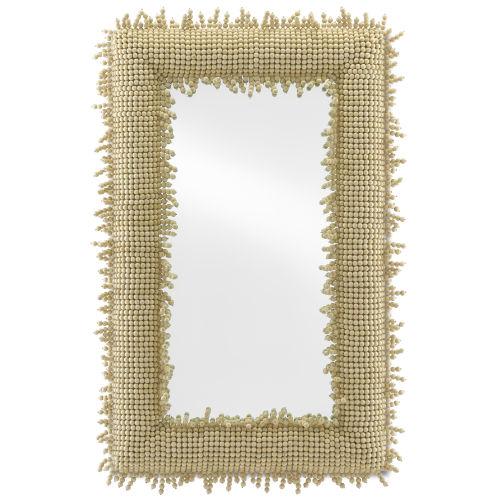 Jeanie Beige Wall Mirror