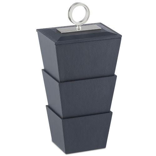 Brash Navy and Nickel Medium Box