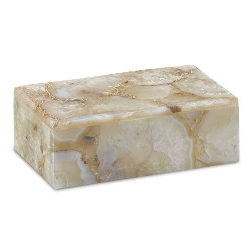 Benoit Natural Agate Small Box