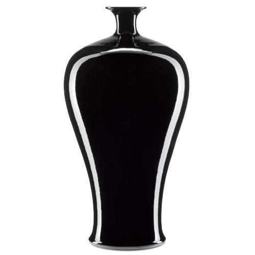 Imperial Black Small Olpe Vase